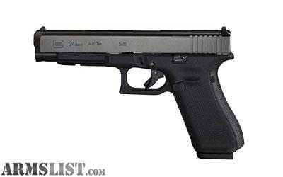 For Sale: New in box Glock 34 Gen5 M.O.S