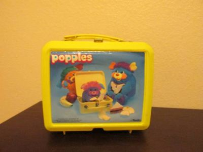Popples Items- 80s Lunch Box with Thermos