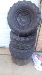 Golf cart tires and rims