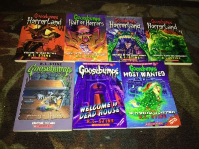 Goosebumps Books In Good Condition Will Not Separate