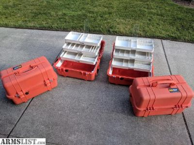 For Sale: Pelican 1460EMS Case Tackle Box Tool Chest Organizer