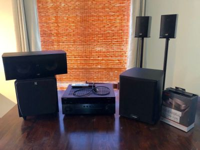 MOVING SALE - Home Theatre electronics