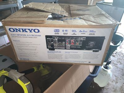 BRAND new Onkyo Receiver