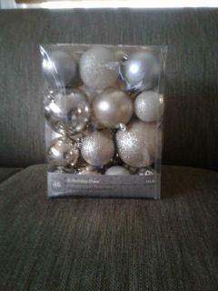 46 count shatterproof ornaments - new