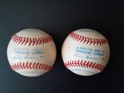 Major League Baseball Official American League Baseballs