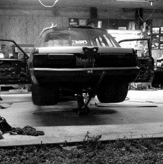 85 Mustang Big Tire Project