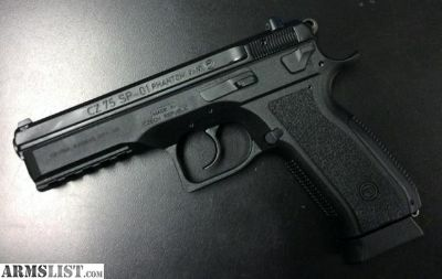 For Sale: CZ 75 SP-01 Phantom