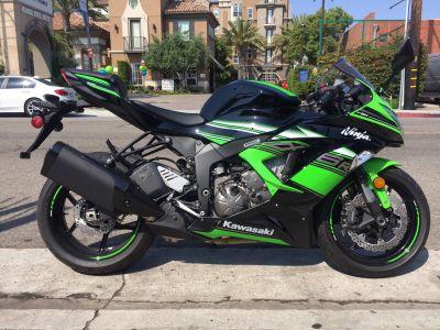 2016 Kawasaki Ninja ZX-6R ABS KRT Edition SuperSport Motorcycles Marina Del Rey, CA