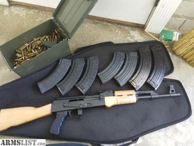 For Sale: RAS47, 7 mags, 525 rounds