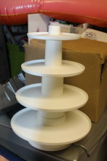 $10 Wilton 4 tier stand, NEW