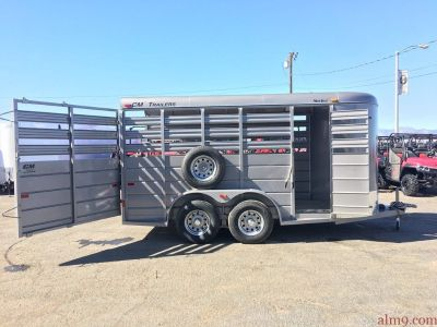 14ft Livestock Trailer, Stock Trailer, Stocker by CM Trailers CMS6630-14