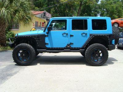 2008 Jeep Wrangler Unlimited Sahara (Blue)