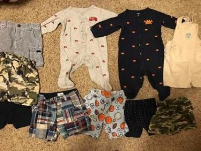 9 to 12 month boy. 10 items