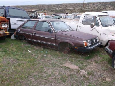 1980 to 1984 Subaru Parts