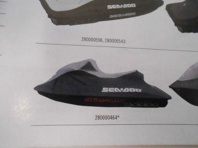 Purchase SEA DOO RXP RXP-X 2004 - 2011 BLACK-MORTER GRAY COVER #280000464 FREE SHIPPING motorcycle in Irwin, Pennsylvania, United States, for US $188.93