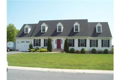 This is a very nice 4 bedroom, 2 1/2 bath cape cod in Gunbys Mill.
