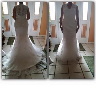 NEW Mermaid Style Wedding Dress