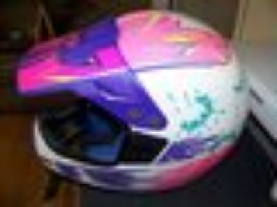 Dirt Bike Helmet...WOMENS SMALL