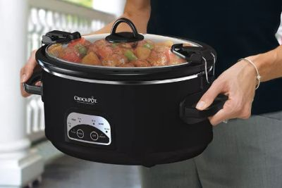 Crock-Pot programmable 6qt (like NEW)