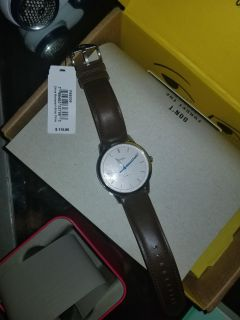 NWT Fossil watch in box