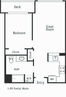 1 bedroom in Downtown