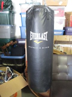 80 lbs. Everlast Heavy Bag W/ MMA (L\XL) 8oz. Gloves