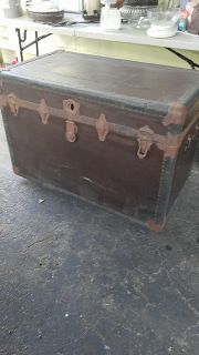 Very old trunk 3ft 2ft for project.