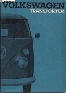 1964 Transporter Bus Instruction Manual