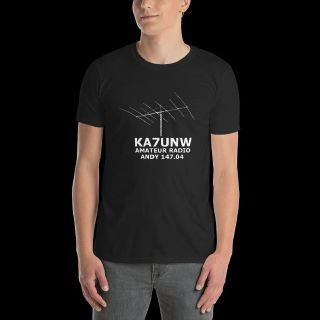 Personalized Ham Radio T Shirts, Caps and Coffee Mugs