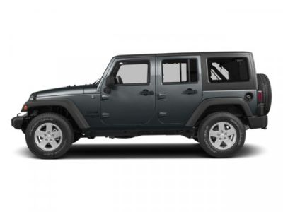 2014 Jeep Wrangler Unlimited Rubicon (Anvil Clear Coat)
