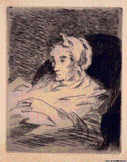 La Convalescente Original Etching and Aquatint by Eduoard Manet