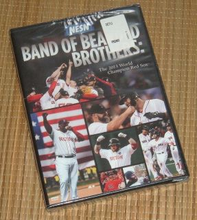 NEW Band of Bearded Brothers Promo DVD The 2013 World Champion Red Sox