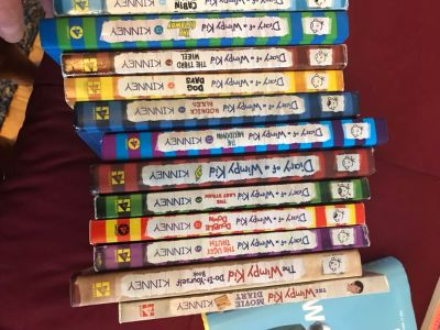 Diary of wimpy kids collection