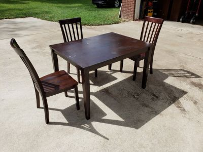 Kitchen Table With Three Chairs!