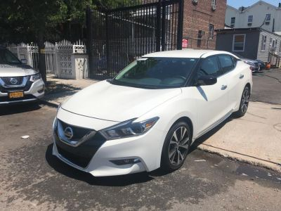 2016 Nissan Maxima 4dr Sdn 3.5 S (Pearl White)