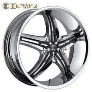 "Find 26"" 2Crave Chrome wheels Rims Tires Suv Donk Car Truck motorcycle in Ontario, California, US, for US $1,699.00"