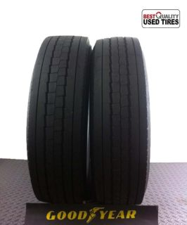 Purchase 2 GOODYEAR G647 RSS 225/70/19.5 225/70R19.5 225 70 19.5 TIRES - 12.00/32nds motorcycle in Deerfield Beach, Florida, US, for US $380.00