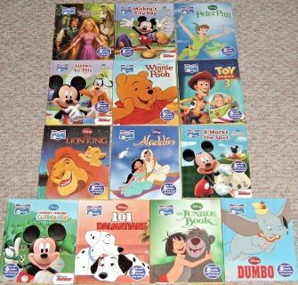 Disney Lot of 13 Story Me Reader Books Mickey 101 Dalmatian Dumbo Pooh Jungle Book