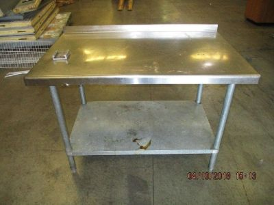 """48""""x29 1/2""""x 35 1/2"""" S/S Work Table RTR# 8033602-16"""