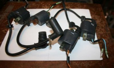 Find 4 good Clean Used Suzuki outboard 115 140 HP ignition coils with wires motorcycle in Scottsville, Kentucky, United States, for US $59.99