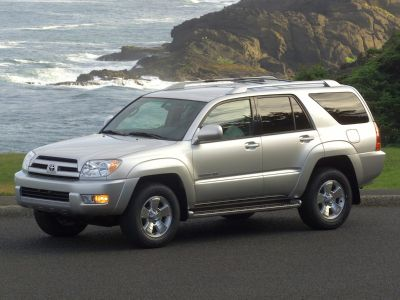 2003 Toyota 4Runner Limited (Galactic Gray Mica)