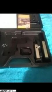 For Sale: XD GUN CASE WITH TWO MAGS