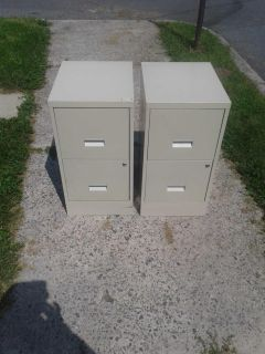 Two two drawer fe cabinet