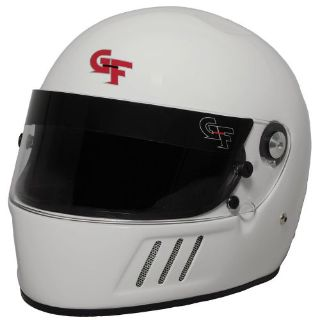 Sell G-FORCE 3123LRGWH GF3 Race Helmet Full Face Large White SA2015 motorcycle in Suitland, Maryland, United States, for US $249.99
