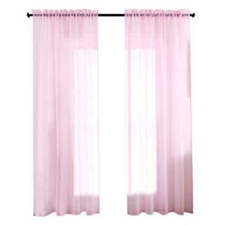 Looking for pink sheer curtains