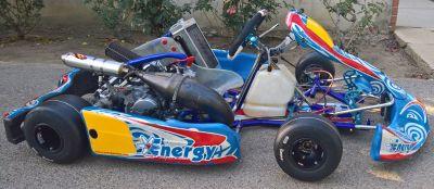 Energy Corse SKUSA Spec Honda CR125 Shifter Kart - EXCELLENT