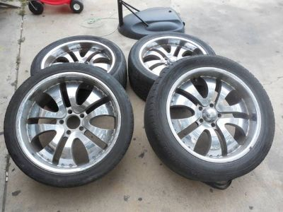 22 Wheels - Rims  Tires
