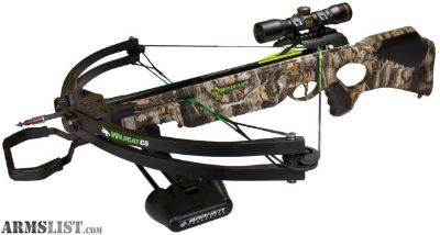 For Sale: BARNETT WILDCAT C5 CAMO CROSSBOW PACKAGE