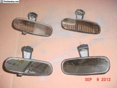Ghia Rear View Mirrors - Lot Of 4 - VW 151947131