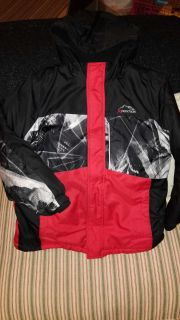 Boys xpedition winter coat 10/12